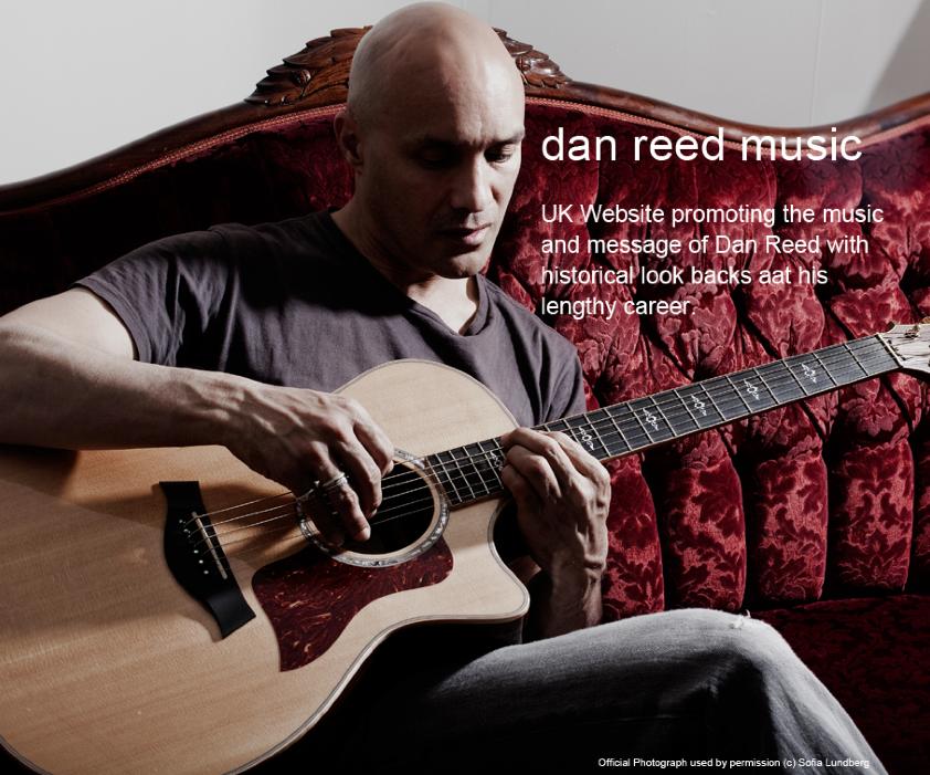 Dan Reed Music - website celebrating the music of dan Reed